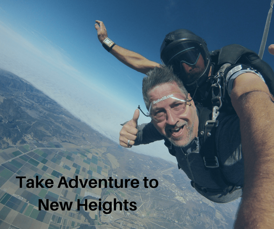 Take Adventure To New Heights