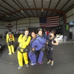 first time skydivers gear check