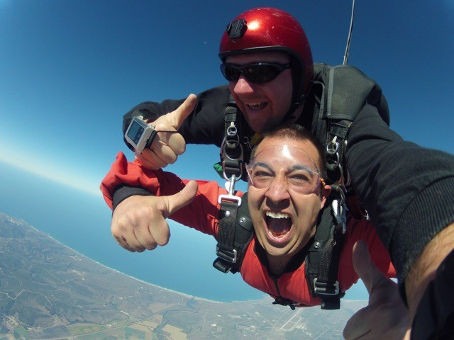 only Southern California skydiving school