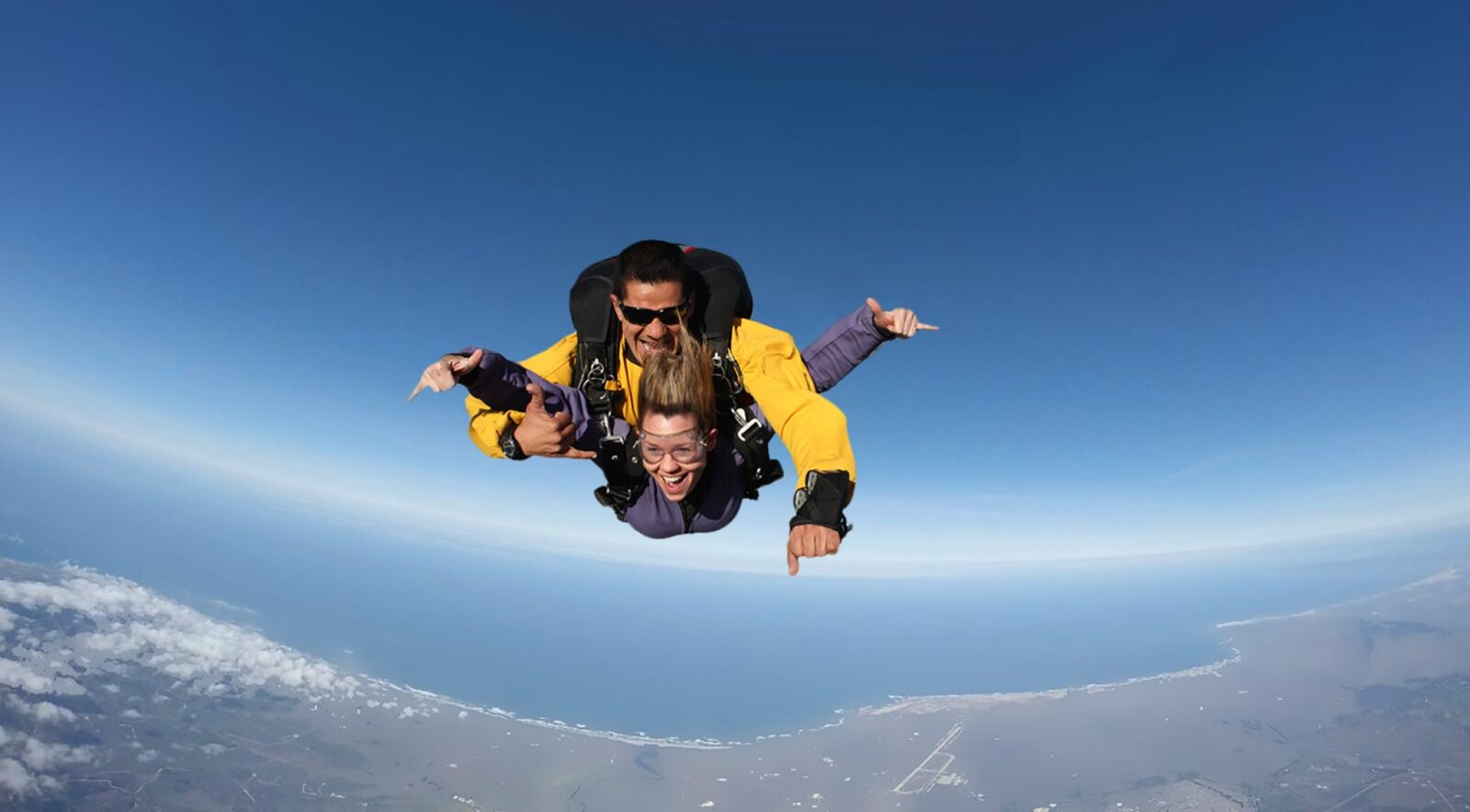 tandem skydiving at Skydive Santa Barbara