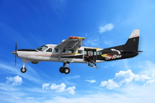 Skydive Santa Barbara jump plane