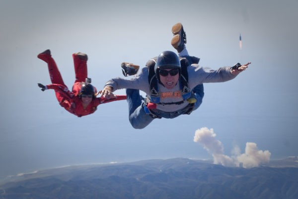 Solo & Licensed Skydivers